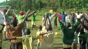 Banda Village's First Yoga Class
